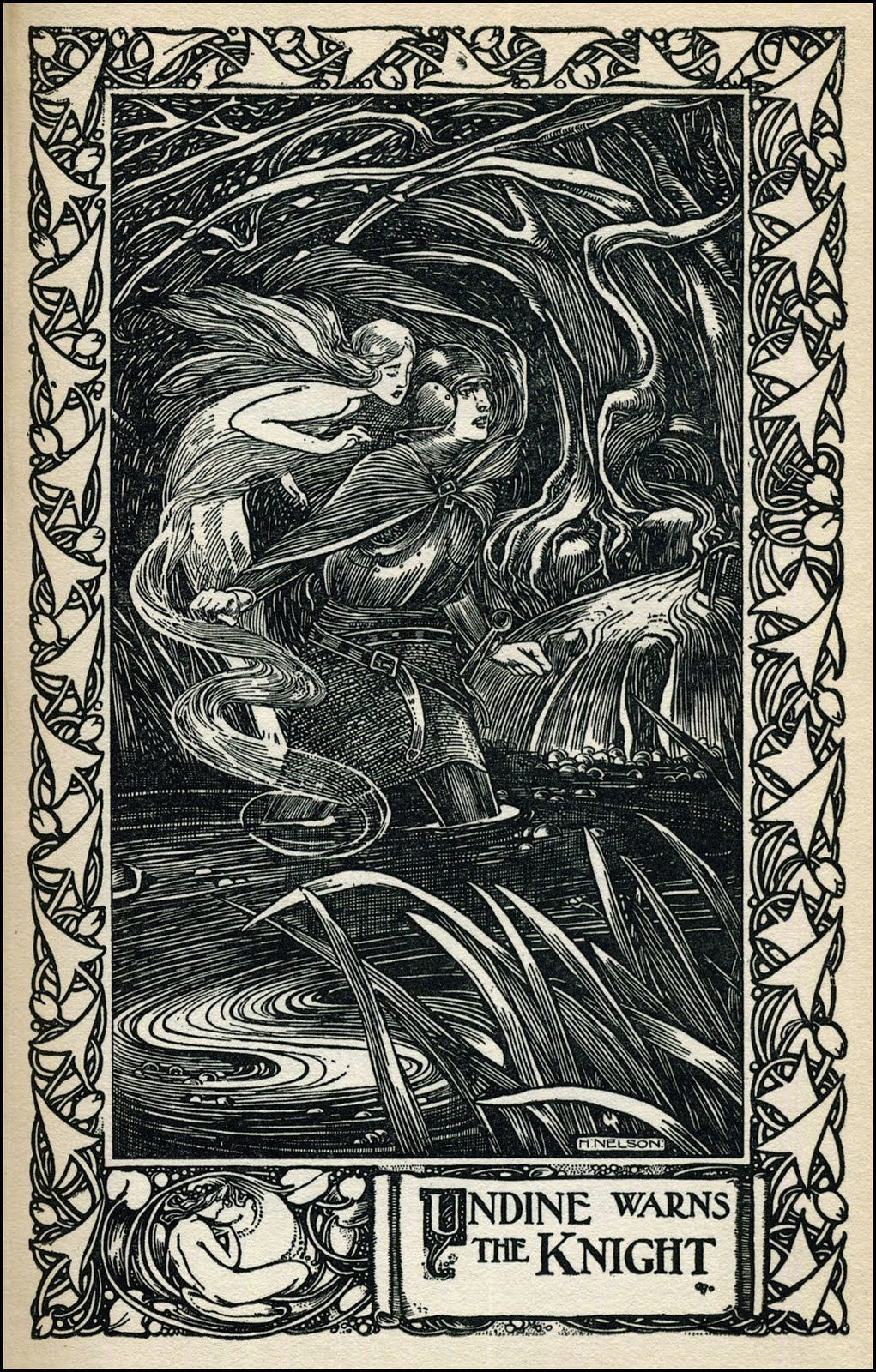 Undine And Aslauga Knight 1901 Illustrated