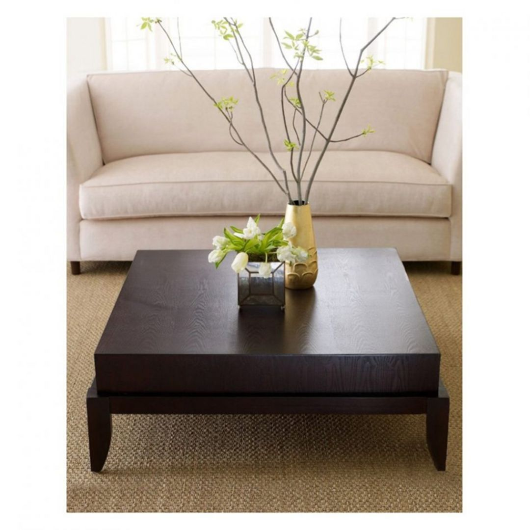Impressive 30 Coffee Table Design For Your Living Room Large Square Coffee Table Coffee Table Square Wood Coffee Table [ 1080 x 1080 Pixel ]