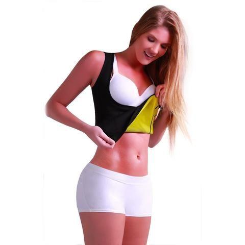 d6cea057ac 2018 Women Hot Neoprene Body Shapers Slimming Waist Slim Sportswear Vest  Underbust Plus Size S M L XL XXL Black