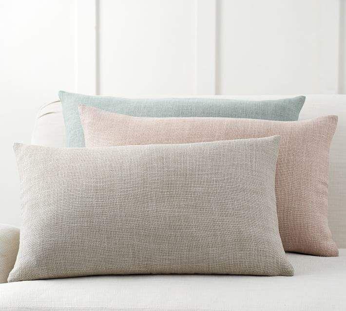 Belgian Linen Lumbar Pillow Cover | Products | Pillows, Pillow