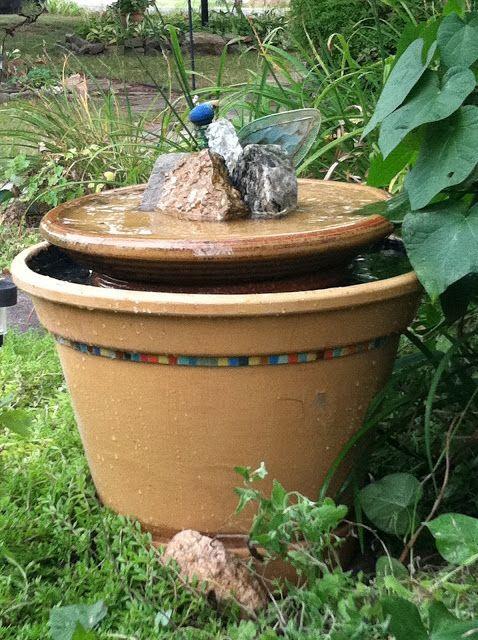 Exceptionnel I Make Stuff: DIY Bubbler Fountain