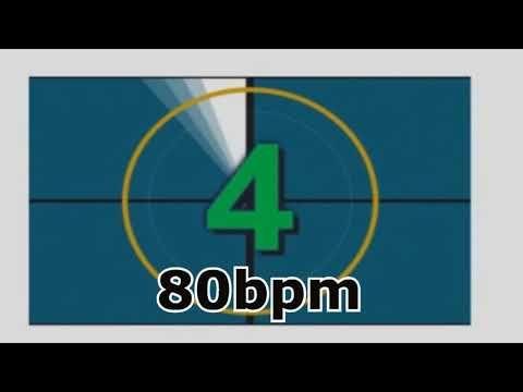 metronome click track drums 80bpm   metronome   Drums