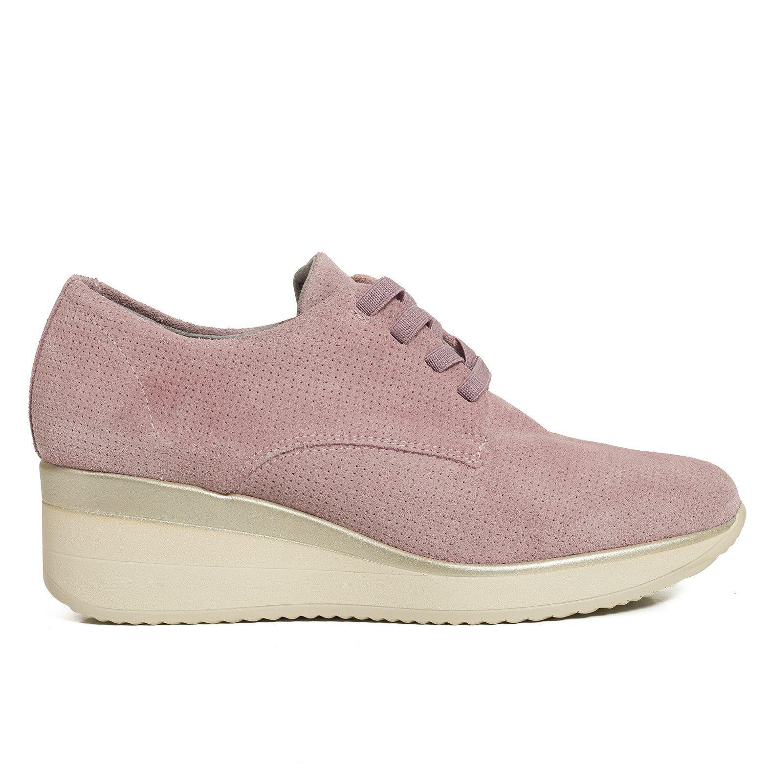 Zapatilla Sneaker mujer Rosa Memory Foam miMaO Confort