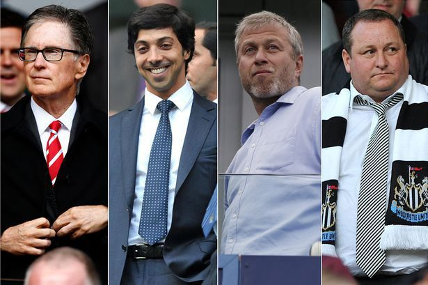 Premier League S Richest Owners How Much Is Your Club S Ownership Worth Premier League League English Premier League
