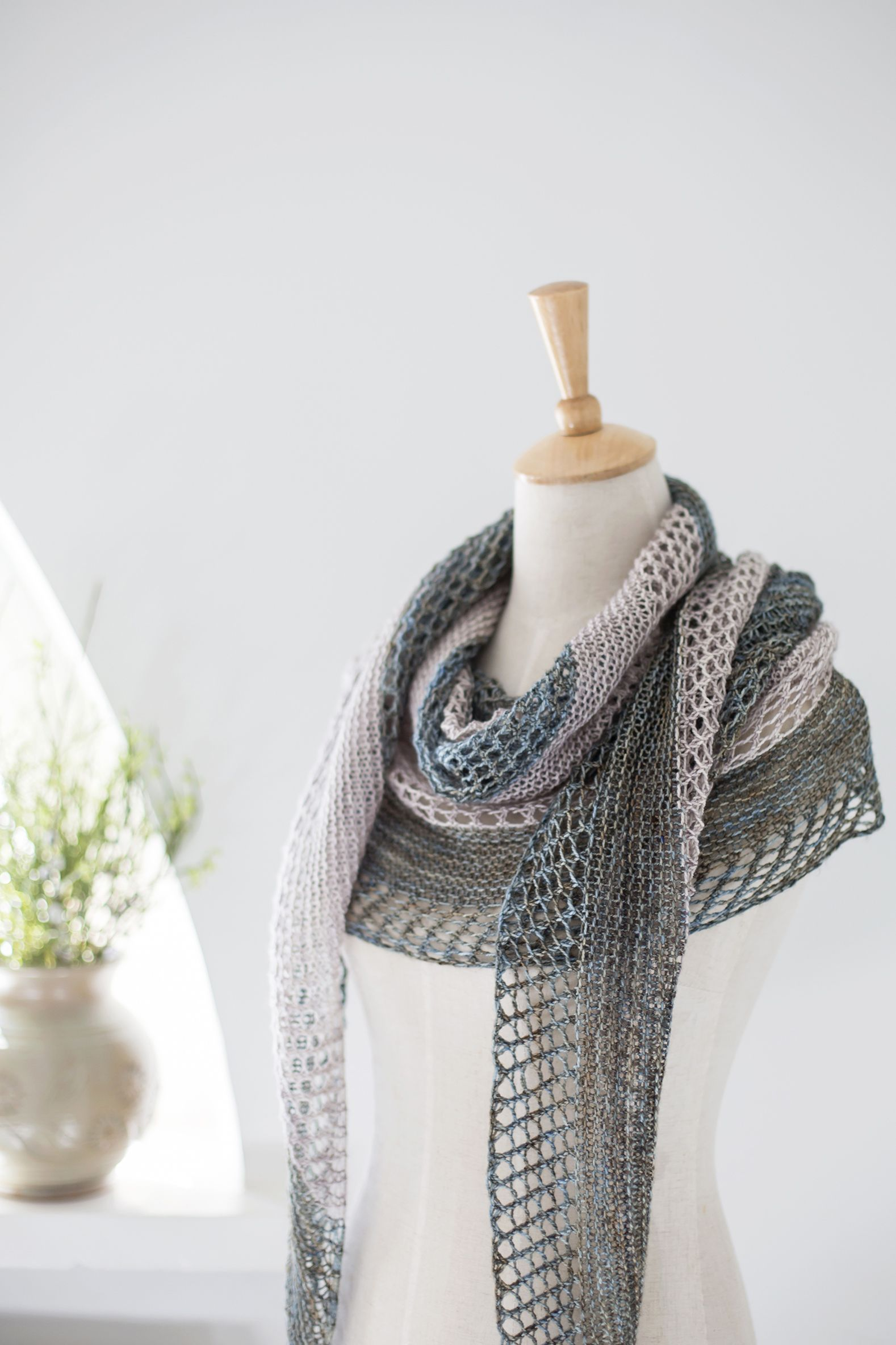 Stella pattern by Janina Kallio | Knitting | Pinterest | Chal