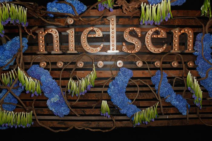 Nielsen Pre-Grammy Celebration: On Saturday, Nielsen hosted a pre-Grammys celebration at Hyde Sunset Kitchen & Cocktails, including performances by Bastille and the Preservation Hall Jazz Band. An arrivals wall spelled out the brand's name in marquee letters, and included unusual upside-down arrangements of flowers. MAC Presents produced.