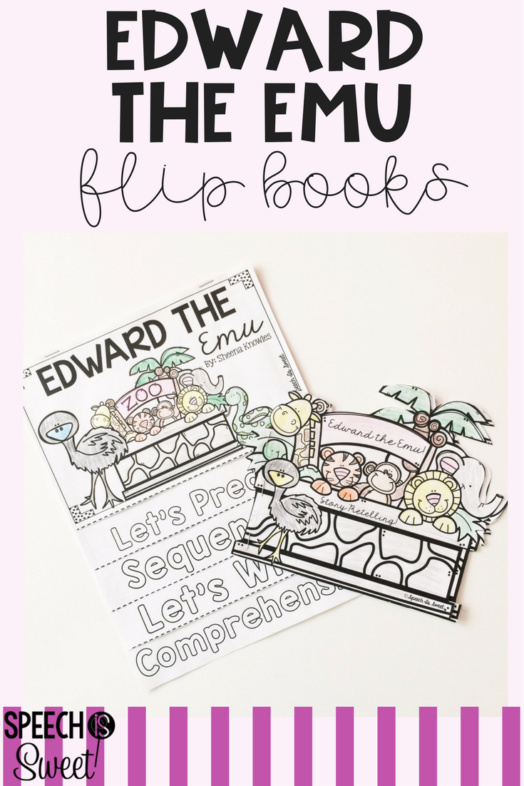 June Flipping For Literature Speech Therapy border=