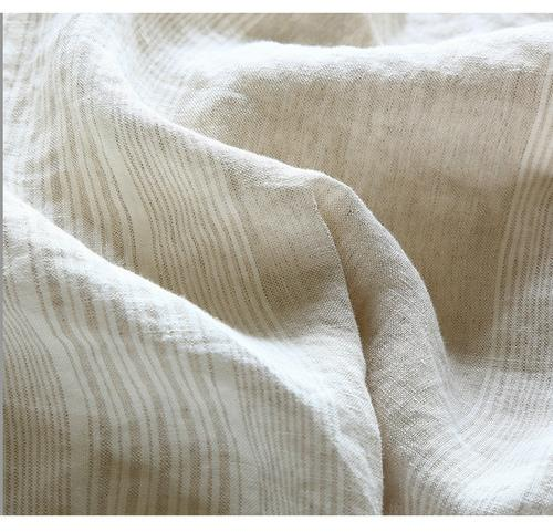Bedding, 100 Pure Linen, Yarn Dyed Strip Bedding Set