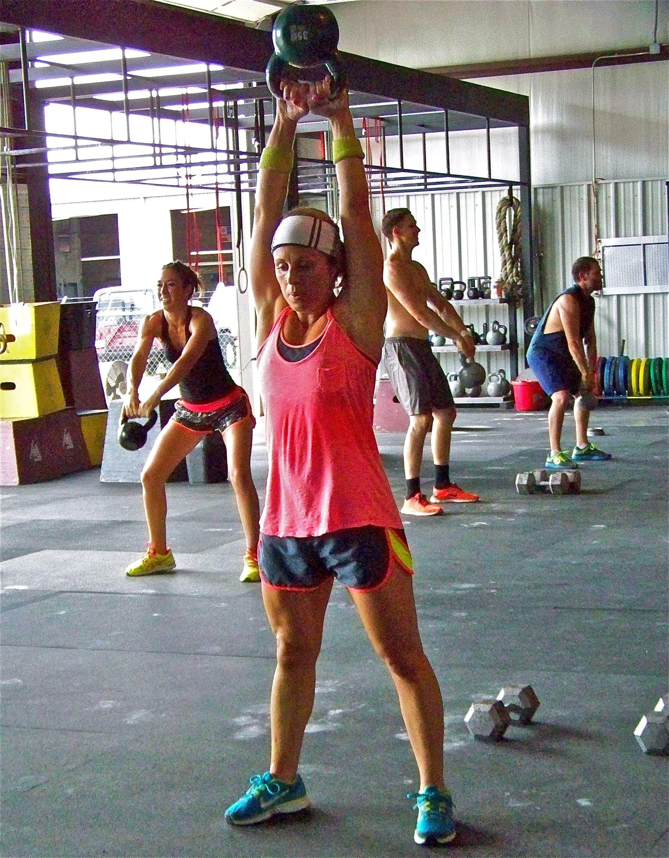 Double Kettlebell Swings - CrossFit Joust - YouTube