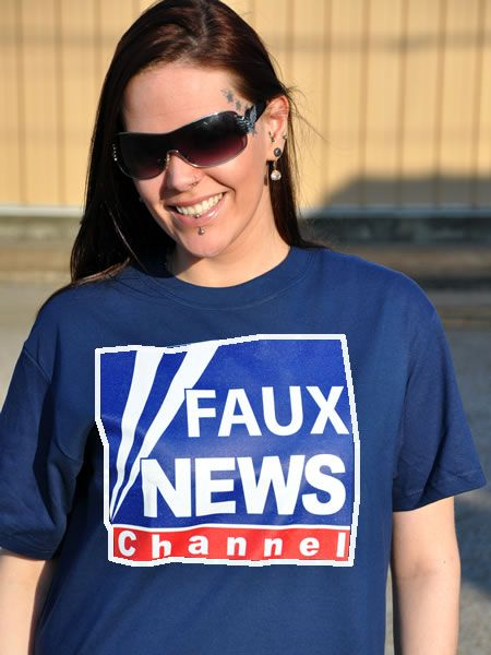 FAUX NEWS CHANNEL - POLITICAL T-SHIRTS
