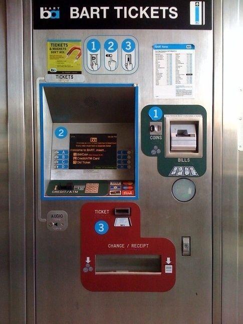 Almost Any Metro Or Parking Ticket Machine Bad Design Design Wellness Design