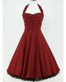 Robe rouge 36