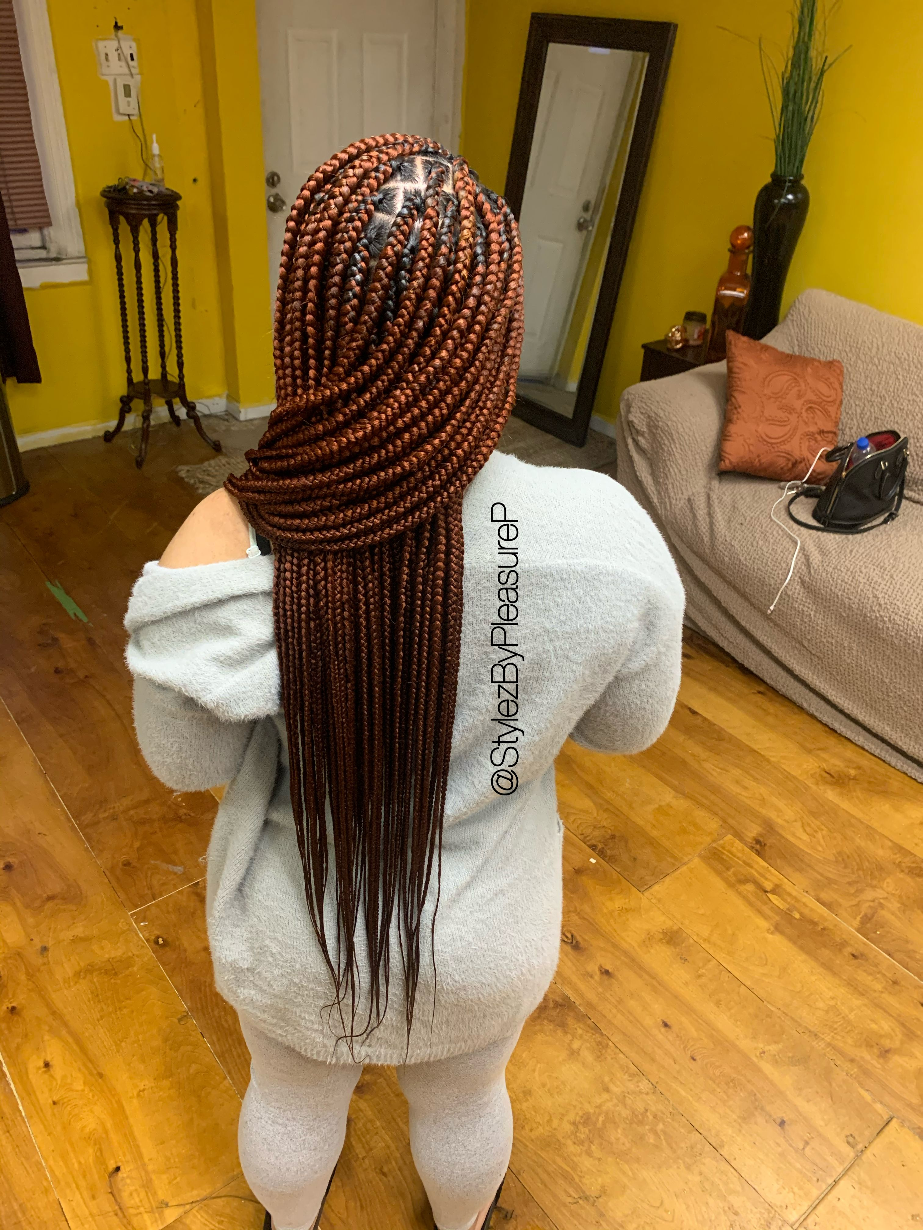 Body Length Knotless 350 Hair Styles Braided Hairstyles Braids