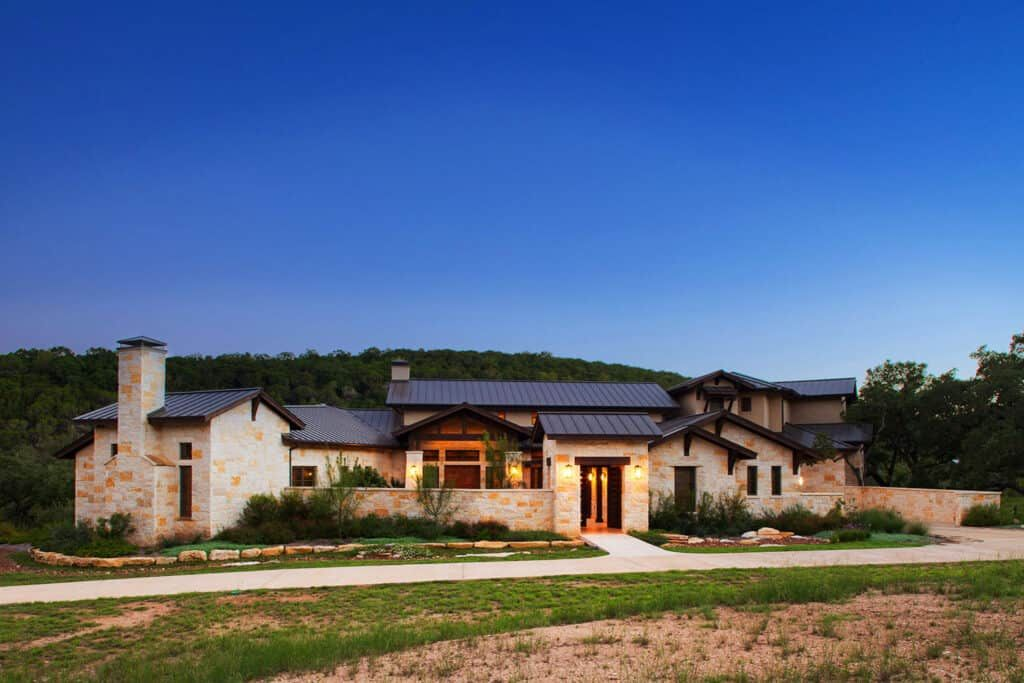 Breathtaking Texas Hill Country home designed with timeless aesthetics