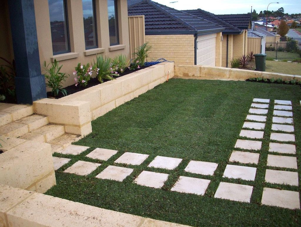 30 Fabulous Stepping Stones Pathway Design Ideas For Your ...
