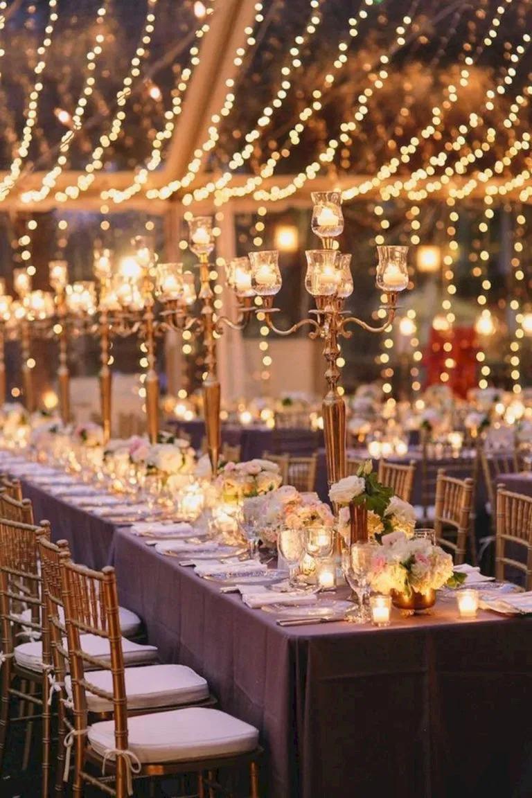 12 Incredible Wedding Lighting Ideas For Romantic Wedding ...