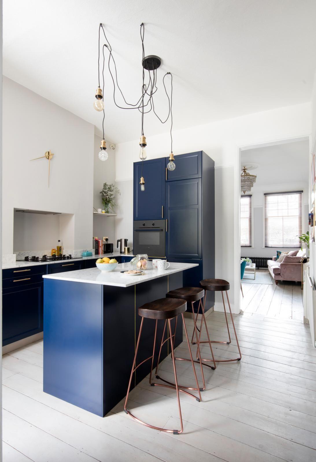 Gallery Home decor, Dark kitchen, Marble island