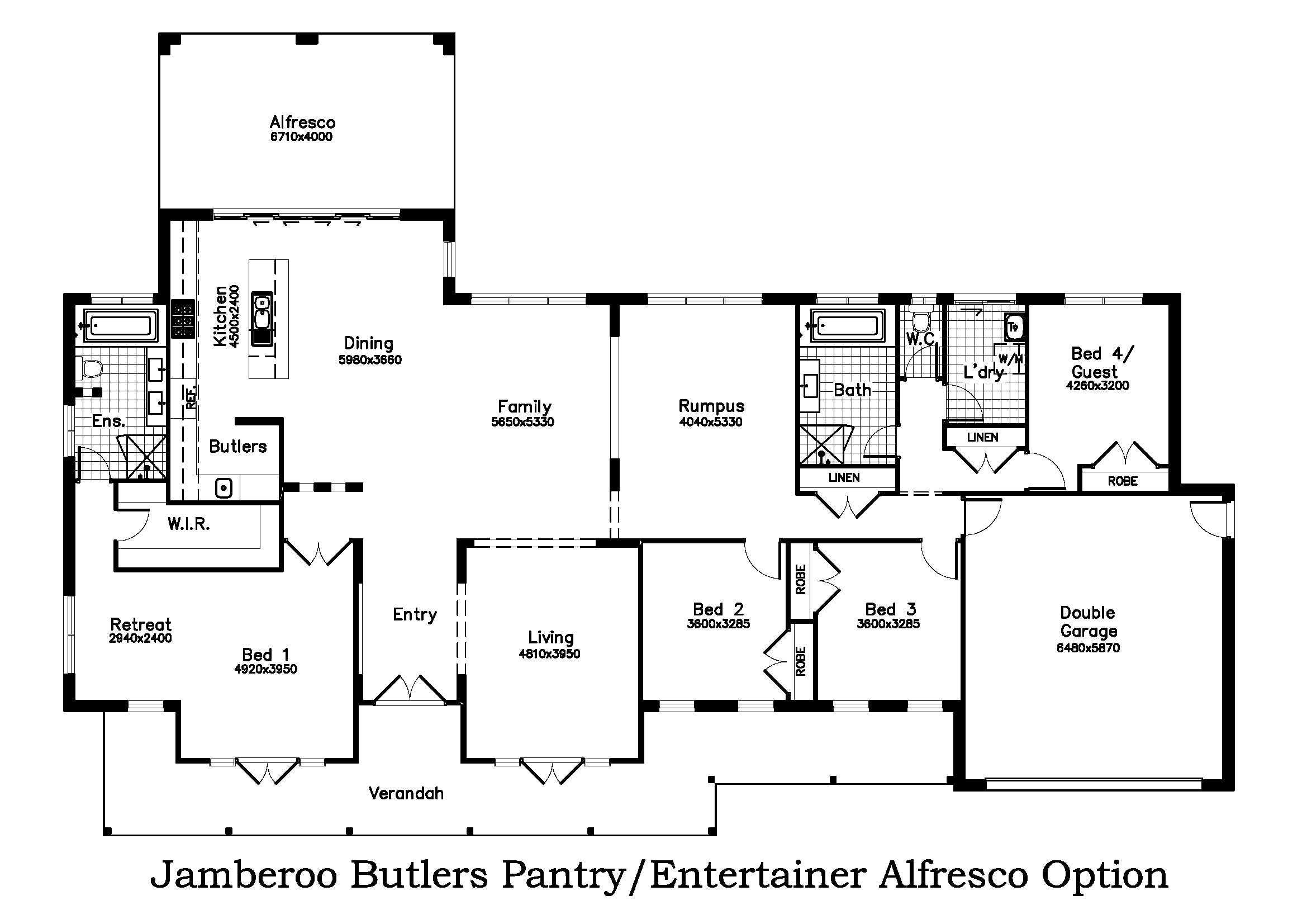 Butler Entertainer Alfresco Option