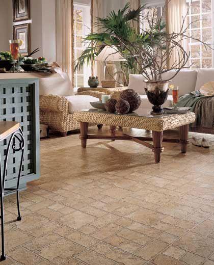 Socorro Slate Mannington Vinyl | Vinyl Flooring | Living Room Flooring Idea  : Vermont Slate By .