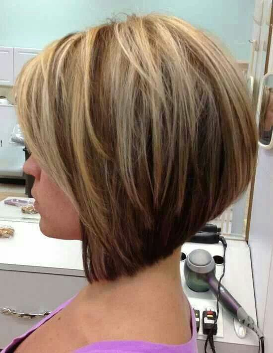 stacked aline with bangs - Google Search | Hairstyles | Pinterest ...