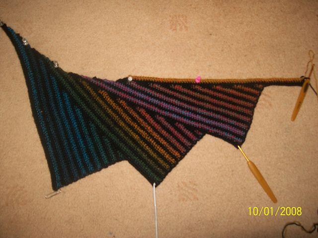 Wingspan Crochet Shawl pattern by Carole Marie | Free ...