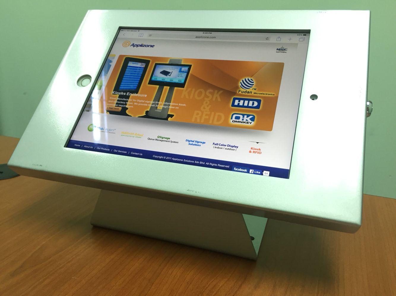 iPad casing (con imágenes) Kiosco, Digitales