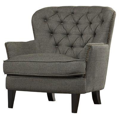 Charlotte Tufted Chair & Reviews | Joss & Main