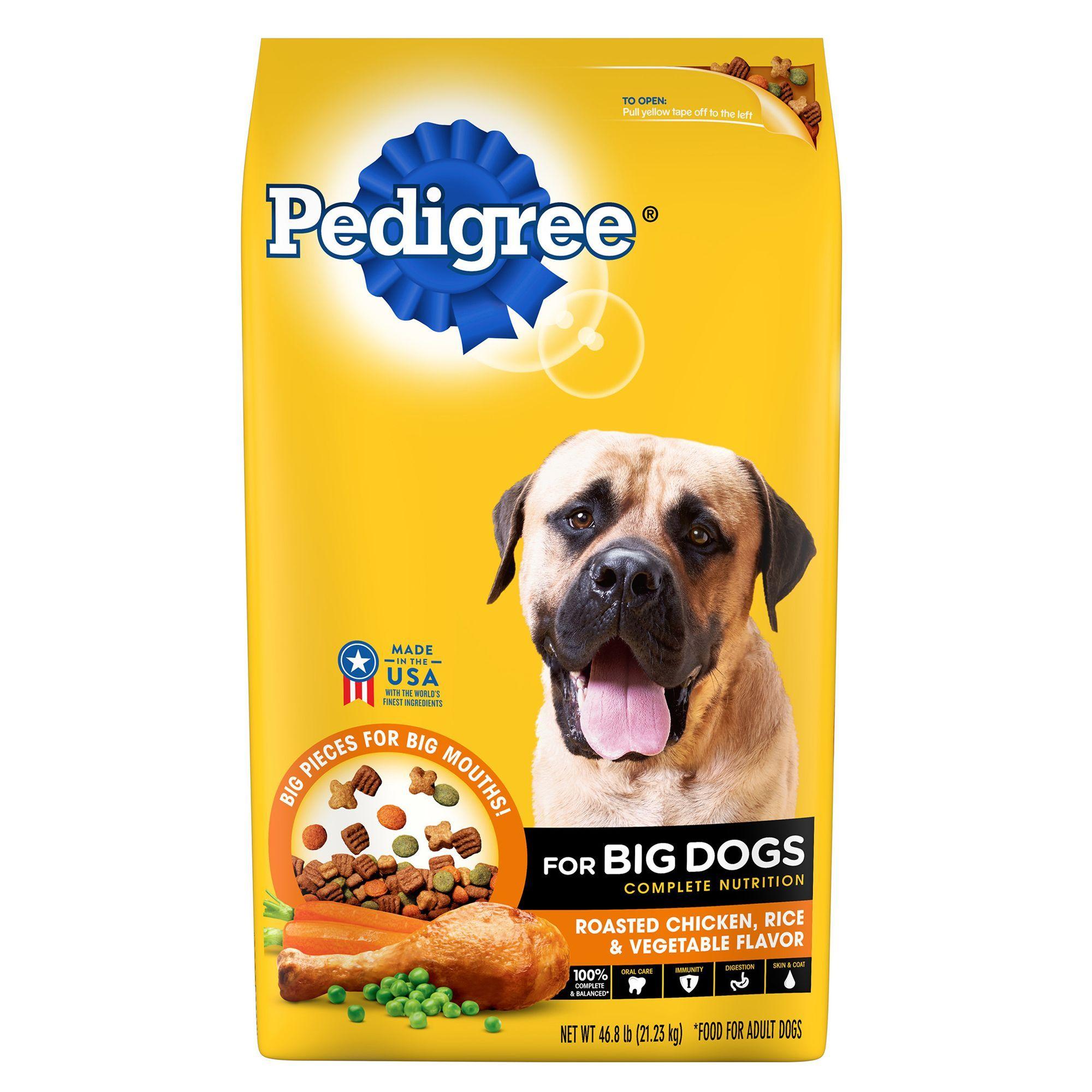 Pedigree For Big Dogs Dog Food Size 46 8 Lb Beet Blue Bone