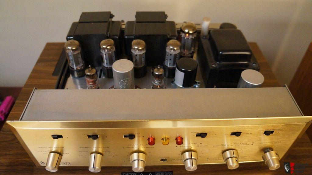 HH Scott 299C Ampli à intégré à tubes. Le plus recherché