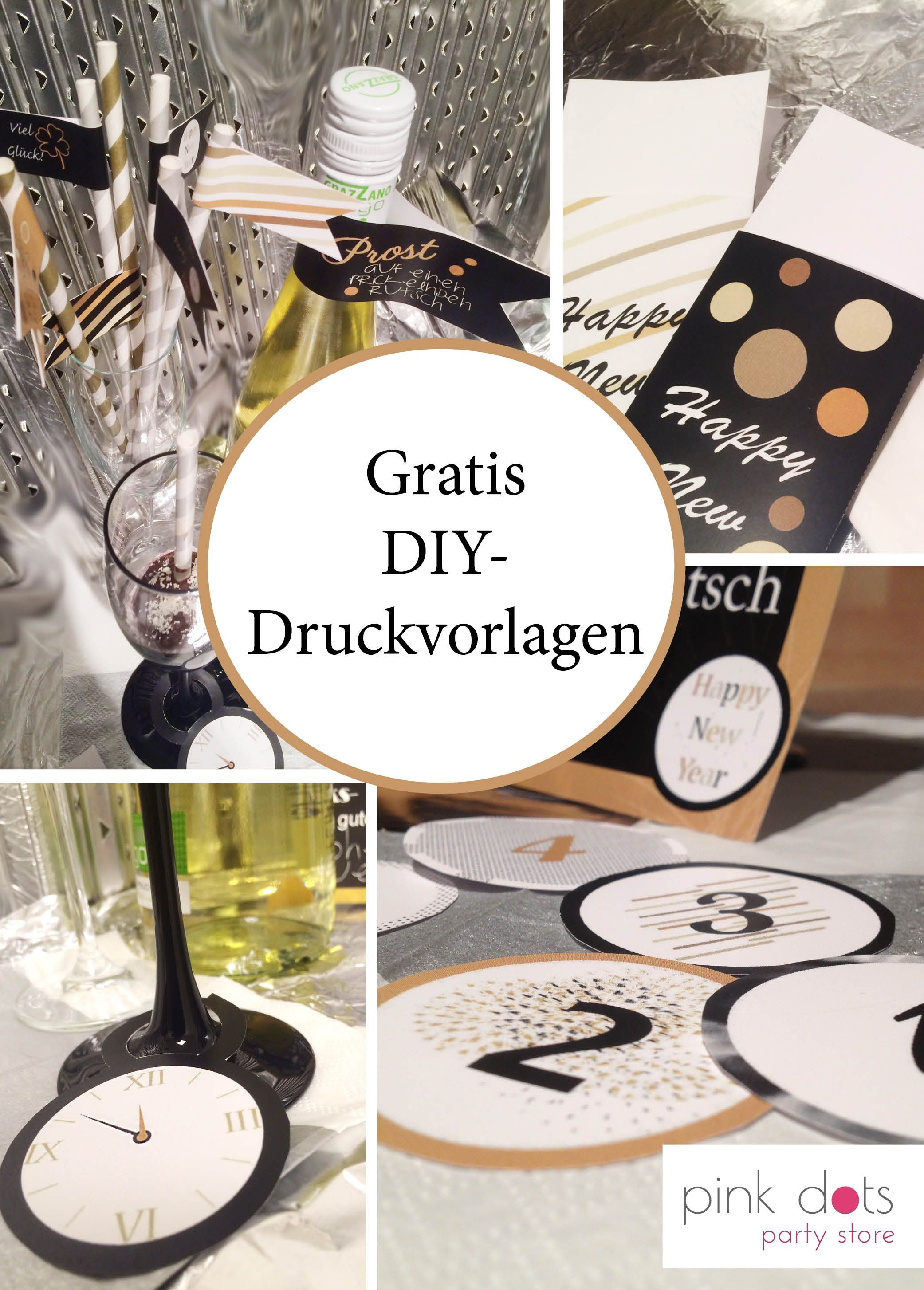 Silvester Partydeko und Accessoires | ☆ Silvester | Pinterest ...
