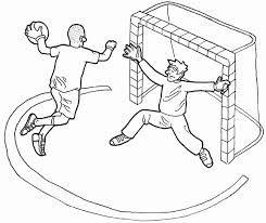 Malvorlage Handballer Coloring And Malvorlagan