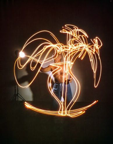 Picasso Dibujando Con Luz Dibujos Picasso Pintura De Luz Pablo Picasso