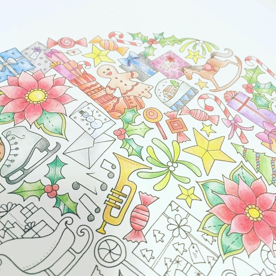 Johanna Basford Coloring Book Adult Books Colouring Vintage Pages