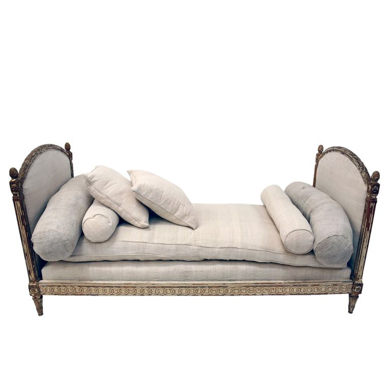 Antique French Louis Xvi Daybed At 1stdibs