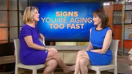 Dr. Nancy Snyderman: Signs you're aging too fast