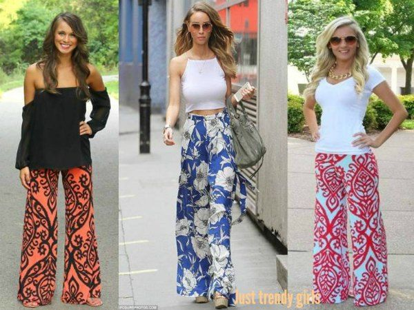 2bf8b08090 Chevron Palazzo Pants How to wear palazzo pants http   www.justtrendygirls.
