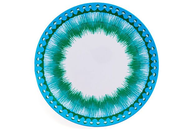 S/4 Ikat Dinner Plates on OneKingsLane.com  sc 1 st  Pinterest & S/4 Ikat Dinner Plates on OneKingsLane.com | Home Decor | Pinterest ...