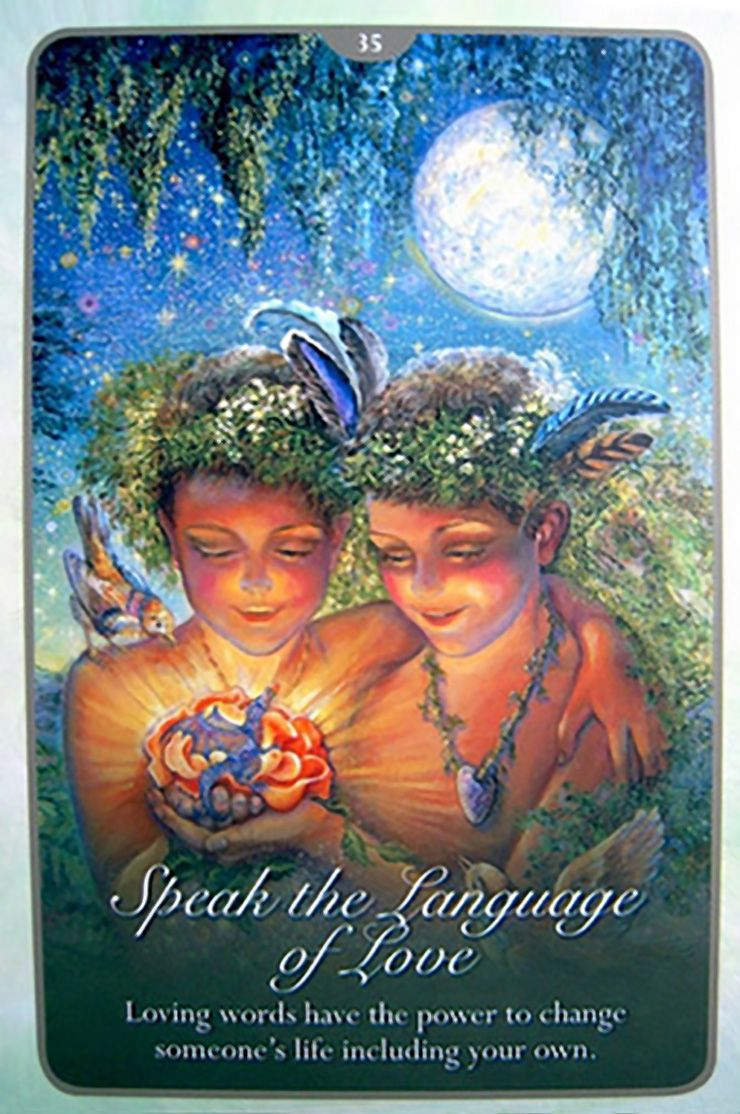 35 Speak The Language Of Love 2 Oracle Cards Whispers Of Love Par Josephine Wall And Angela Hartfield Angel Tarot Cards Angel Oracle Cards Angel Tarot
