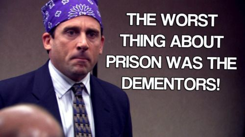 Prison Mike Cant Go Wrong When Ya Mix Harry Potter And The Office Prison Mike Just For Laughs Laughed Until We Cried