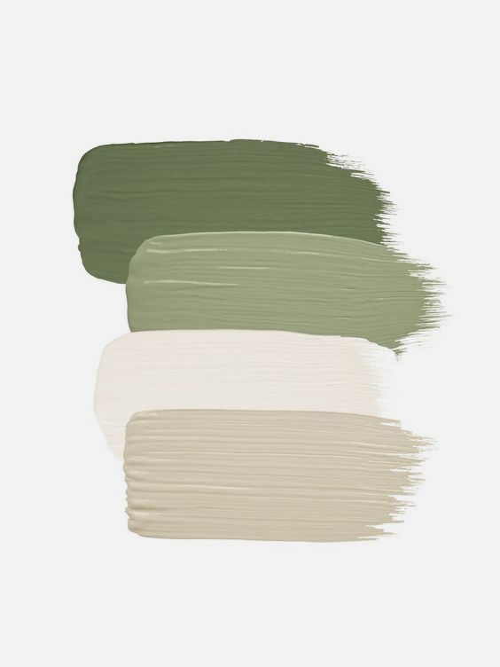 Olive And Taupe Colour Palette