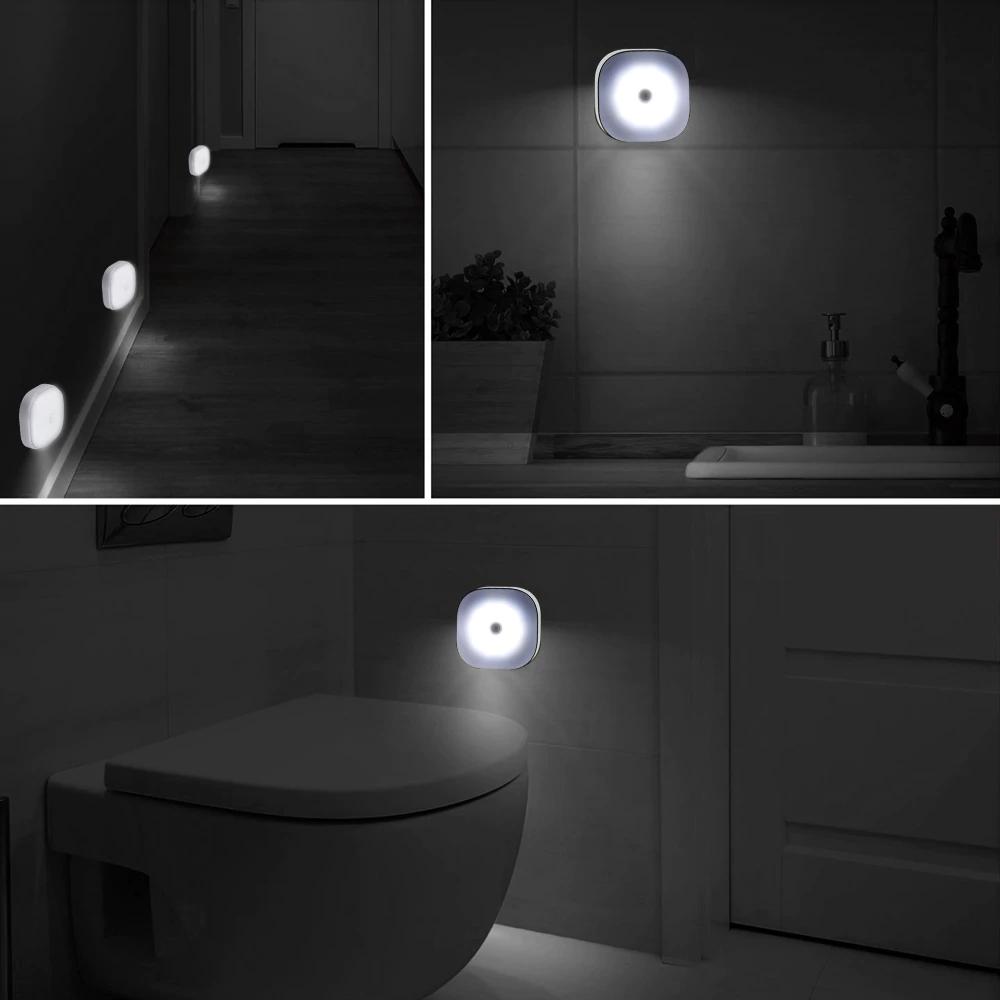 10 Leds Pir Motion Sensor Night Light Lamp For Bedroom Kitchen Sensor Night Lights Night Light Lamp Lamp Light