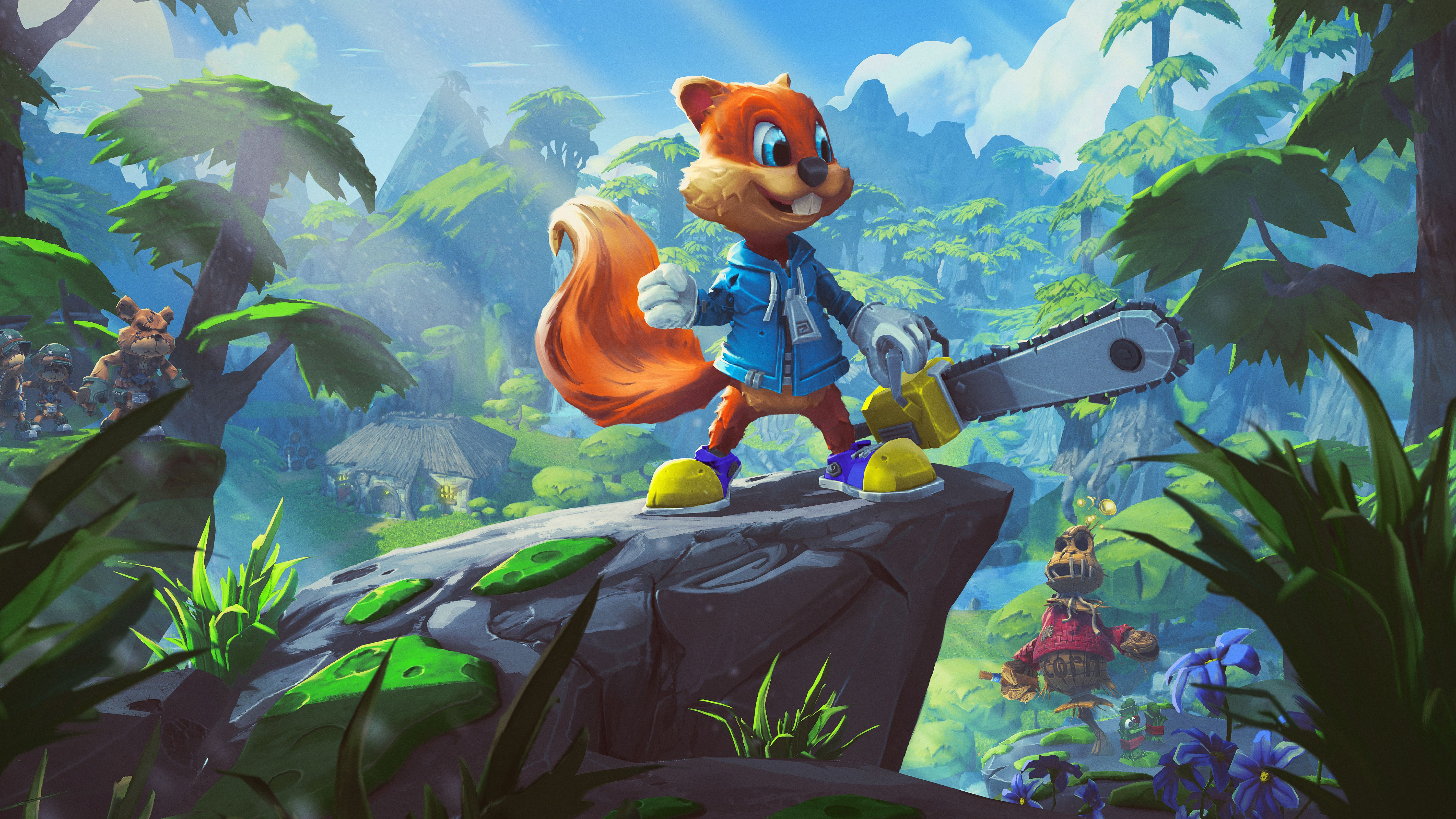 Conker S Big Reunion Join Conker 10 Years After The Events Of