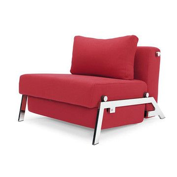 I Liked This Design On Fab Cubed Sleek Chair Bed Twin Red Sofa Bed Design Chair Bed Furniture