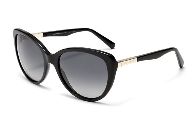 fee1be8b5877 Women s black acetate sunglasses with cat-eye frame by Dolce   Gabbana dg -4175