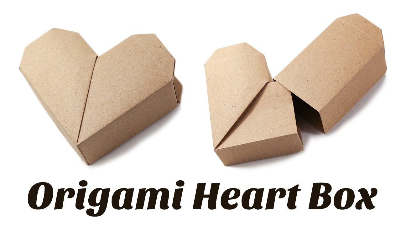 Origami heart box instructions origami paper crafts origami heart box instructions jeuxipadfo Choice Image