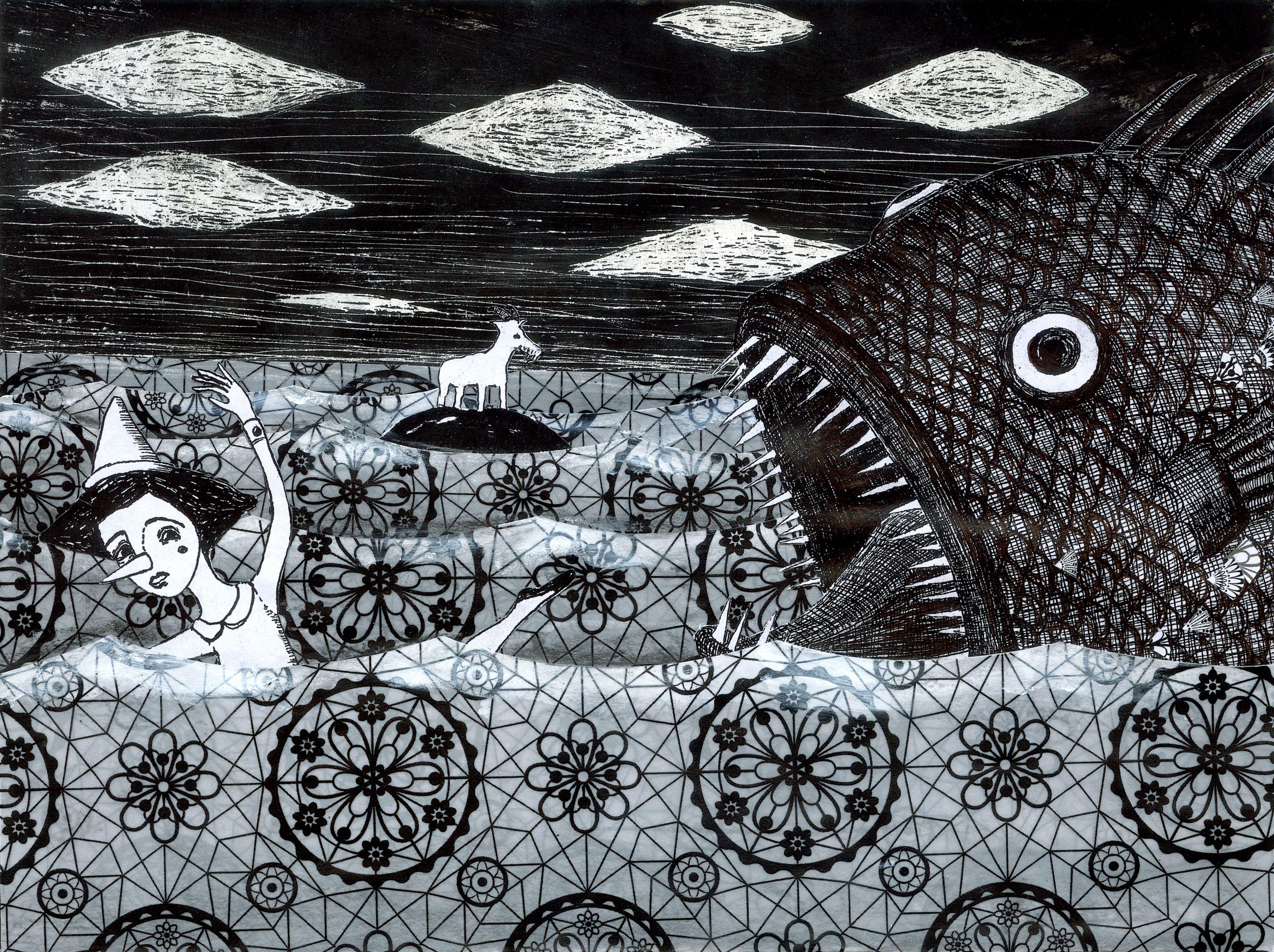 Pinocchio_Il terribile pescecane  2008