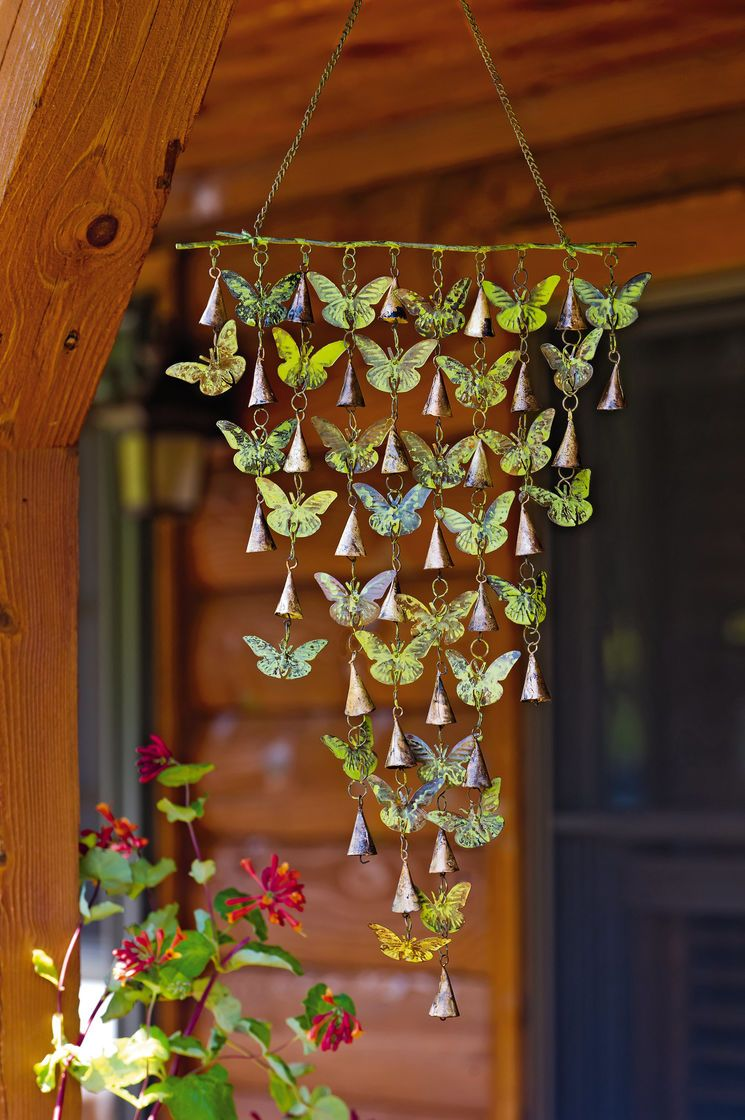 Butterfly Wind Chimes with Bells Could