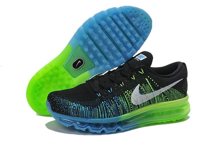 Nike Flyknit Air Max 2015 Blue