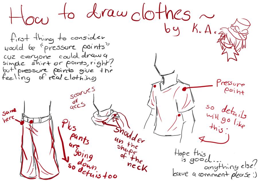 clothes tutorial by otackoon deviantart com on deviantart draw