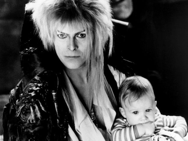 David-Bowie and baby